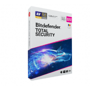 Bitdefender Total Security 2020 5 PC 1 an