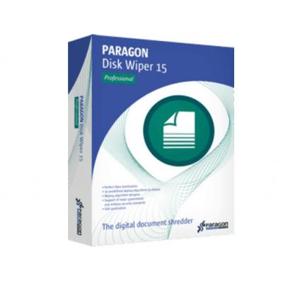 Paragon Disk Wiper Advanced