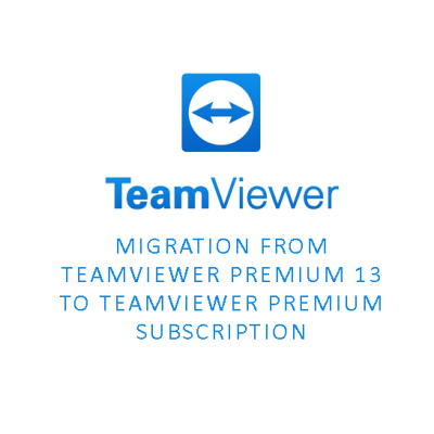 Migration from TeamViewer Premium 13 to TeamViewer Premium Subscription